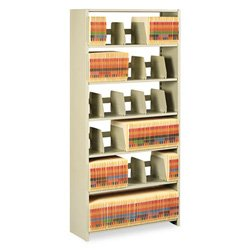 Tennsco 36 by 12 by 76-Inch Snap-Together Open Shelving Steel