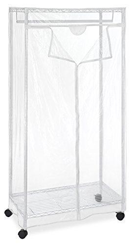 Whitmor Supreme Clothes Closet Clear