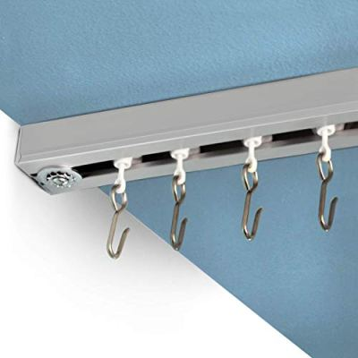 RoomDividersNow Ceiling Track Set - Small, For Spaces