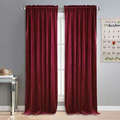 NICETOWN Velvet Textured Curtains/Draperies