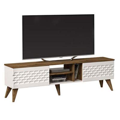Decorotika Eggea Modern TV Stand Media Console fits