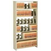 Tennsco Snap-Together Steel Six-Shelf Closed Starter Set
