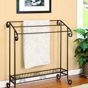 Coaster Home Furnishings 3-Tier Towel Rack Dark Bronze