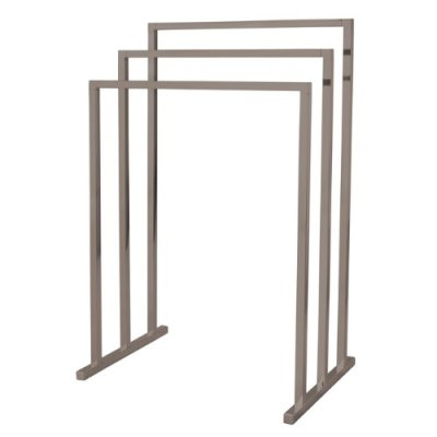 Kingston Brass Pedestal 3-Tier Steel Construction Towel Rack