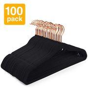 Pretigo Premium Velvet Hangers Non-Slip Velvet Hangers