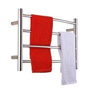 SHARNDY Electric Towel Warmer Curve Towel Bars Polish Chrome