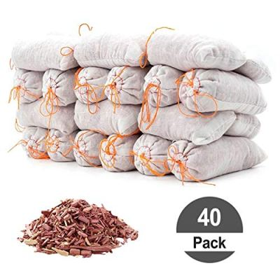 HomeDo Cedar Sachets Bags, Cedar Chips for Closets and Drawers