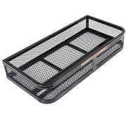 EnjoyShop2018 Universal Front ATV Hd Steel Cargo Basket Rack Luggage