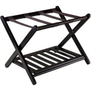 Winsome Reese Luggage Rack with Shelf
