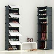 JOISCOPE Portable Shoe Storage Organzier Tower, Modular Cabinet