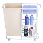 Mythinglogic Laundry Sorter Hamper Rolling Laundry Storage