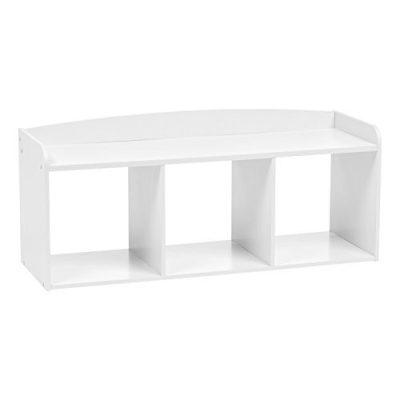 IRIS USA, Inc. Wooden Storage Bench, White