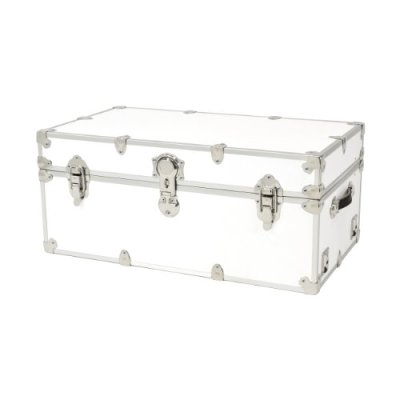 Rhino Trunk and Case Armor Trunk, Large, White