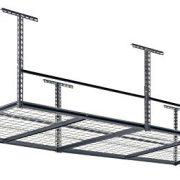 "Muscle Rack 96""W x 48""D Overhead Garage Adjustable Ceiling Storage Rack"