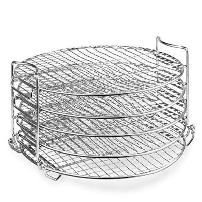 Dehydrator Rack,6.5 & 8 qt Stainless Steel Dehydrator Stand Accessory