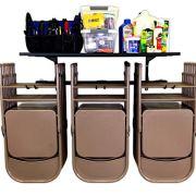 StoreYourBoard Chair Storage Rack and Storage Shelf, Folding and Beach Chair