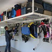 Garage Storage Organizer Racks Ceiling Overhead Drop Basement Heavy Duty