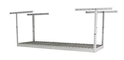 SafeRacks - 2x6 Overhead Garage Storage Rack - Height Adjustable Steel