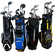 StoreYourBoard Golf Organizer, Garage Storage Rack, Adjustable Wall Mounted
