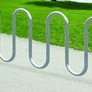 Kirby Built Products Steel Park-It Galvanized Plus Bike Rack