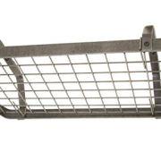 Enclume HS Decor Low-Ceiling Retro Rectangle, Regular, Hammered Steel