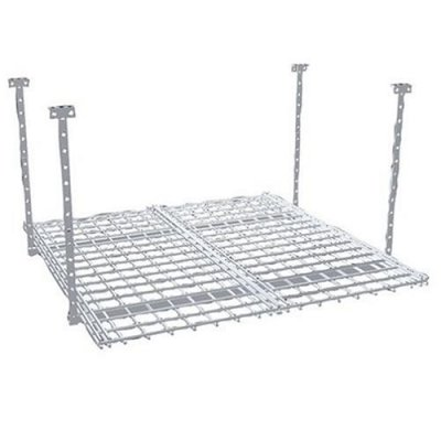 HyLoft 36- by 36-Inch Overhead Storage System, White