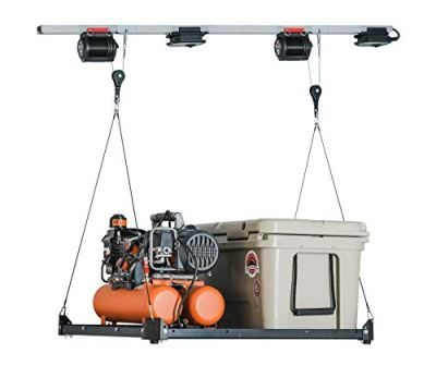 Platform Lifter, 3'x3' Motorized Overhead Garage Storage, Powered by MyLifter