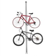 RAD Cycle Aluminum Bike Stand Bicycle Rack Storage or Display Holds Two Bicycle