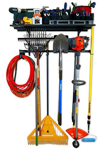 StoreYourBoard Garage Pro Tool Storage Rack, Equipment Organizer