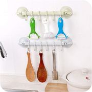 EORBIW Vacuum Suction Cup Hooks, Removable Utility Hooks Hanger