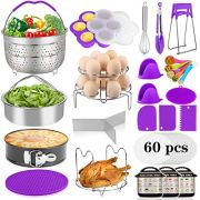 Aiduy 23 Pieces Accessories for Instant Pot 6,8 Qt, Pressure Cooker Accessories Set
