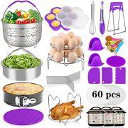Aiduy 23 Pieces Accessories for Instant Pot 6,8 Qt, Pressure Cooker Accessories Set