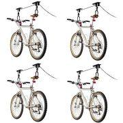 Discount Ramps 4-Bike Elevation Garage Bicycle Hoist Kit