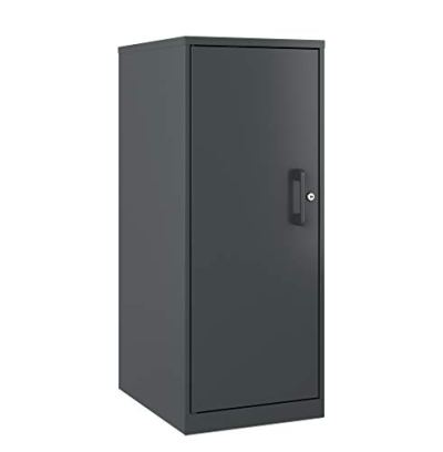Office Dimensions 3 Shelf Personal Storage Cabinet, Locking