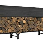 ShelterLogic 12' Adjustable Heavy Duty Outdoor Firewood Rack