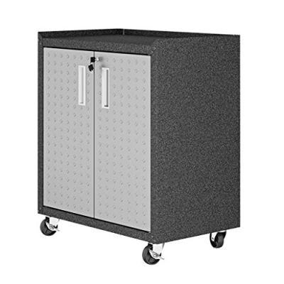 Manhattan Comfort Fortress Collection Modern Designed Mobile Storage Garage