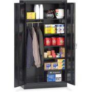 Tennsco 24 Gauge Steel Standard Welded Combination Storage Cabinet