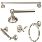 5 Piece Contemporary Bathroom Hardware Accessories Set