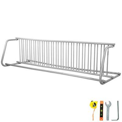 """BestEquip 111"""" Length Floor Bike Rack 18 Holders All-Steel Grid Bike Rack"""