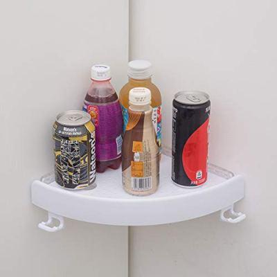 MANMEI New Corner Shelf Triple-cornered Bathroom Wall Corner Mount Storage