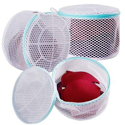 Plusmart Bra Laundry Bag, Mesh Laundry Bag for Delicates, Bra Washing Bag for D to E Cup,3 Pack