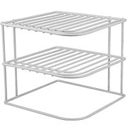 DecorRack 2 Kitchen Corner Shelves, Countertop and Cabinet Organizer