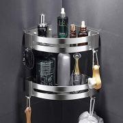 AK KYC Shower Corner Shelf Shower Caddy Wall Mounted Aluminum Bathroom