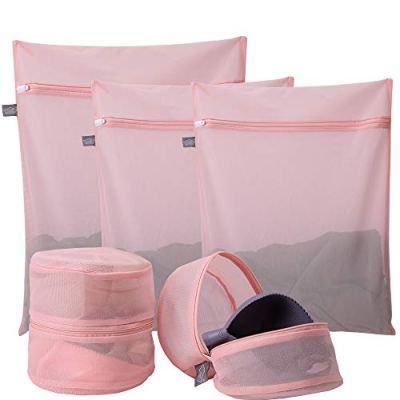 Kimmama Delicates Laundry Bags, Bra Fine Mesh Wash Bag for Underwear