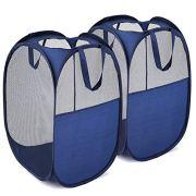 MaidMAX Pop-Up Laundry Clothes Hamper, Mesh Laundry Basket