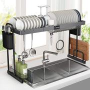 Over Sink Dish Rack, G-TING Expandable Dish Drying Rack