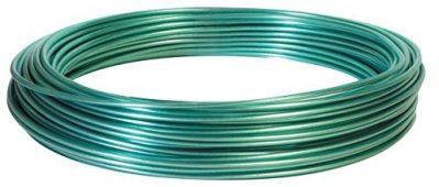 Hillman 122100 100-Feet Green Vinyl Jacketed Multi-Purpose Wire