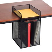 Safco Products Onyx Mesh Vertical Hanging Desk Storage