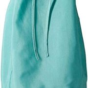 Redmon Rectangular Willow Hamper Cloth Teal Liner