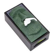 Bits and Pieces-Tissue Box Cover Stone Face Tissue Holder - Great Gag Gift
